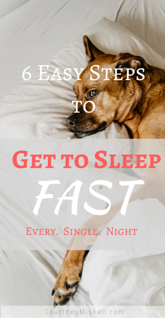 6 Steps to Get to Sleep Faster Every Night
